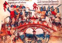 معركة موهي بالمجر، (في 11 أبريل 1241)، التي قد يكون مونخ قد شارك فيها
