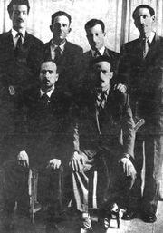 القادة الستة لحزب جبهة التحرير الوطني عام 1954