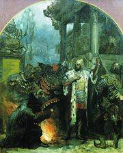 Alexander Nevsky in the Horde