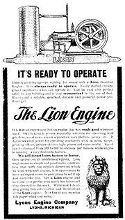 محرك إحتراق داخلي صنع عام 1908