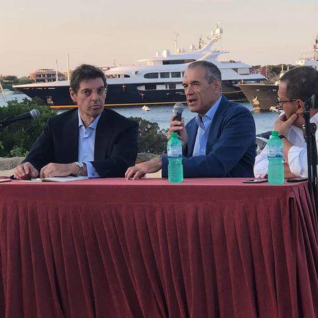Cottarelli con Persico a Porto Cervo