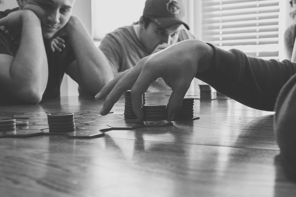 Playing Board Games as a Family