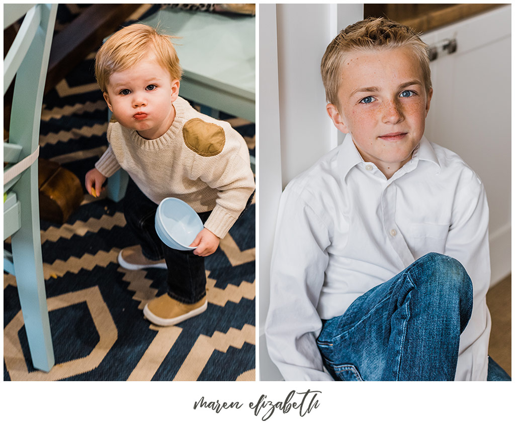 Lifestyle family pictures at home | Arizona Photographer | Maren Elizabeth Photography.