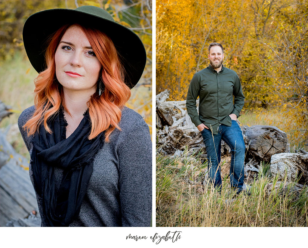 Couples pictures at Jolly's Ranch in Hobble Creek Canyon in Utah. | Arizona Family Photographer | Maren Elizabeth Photography