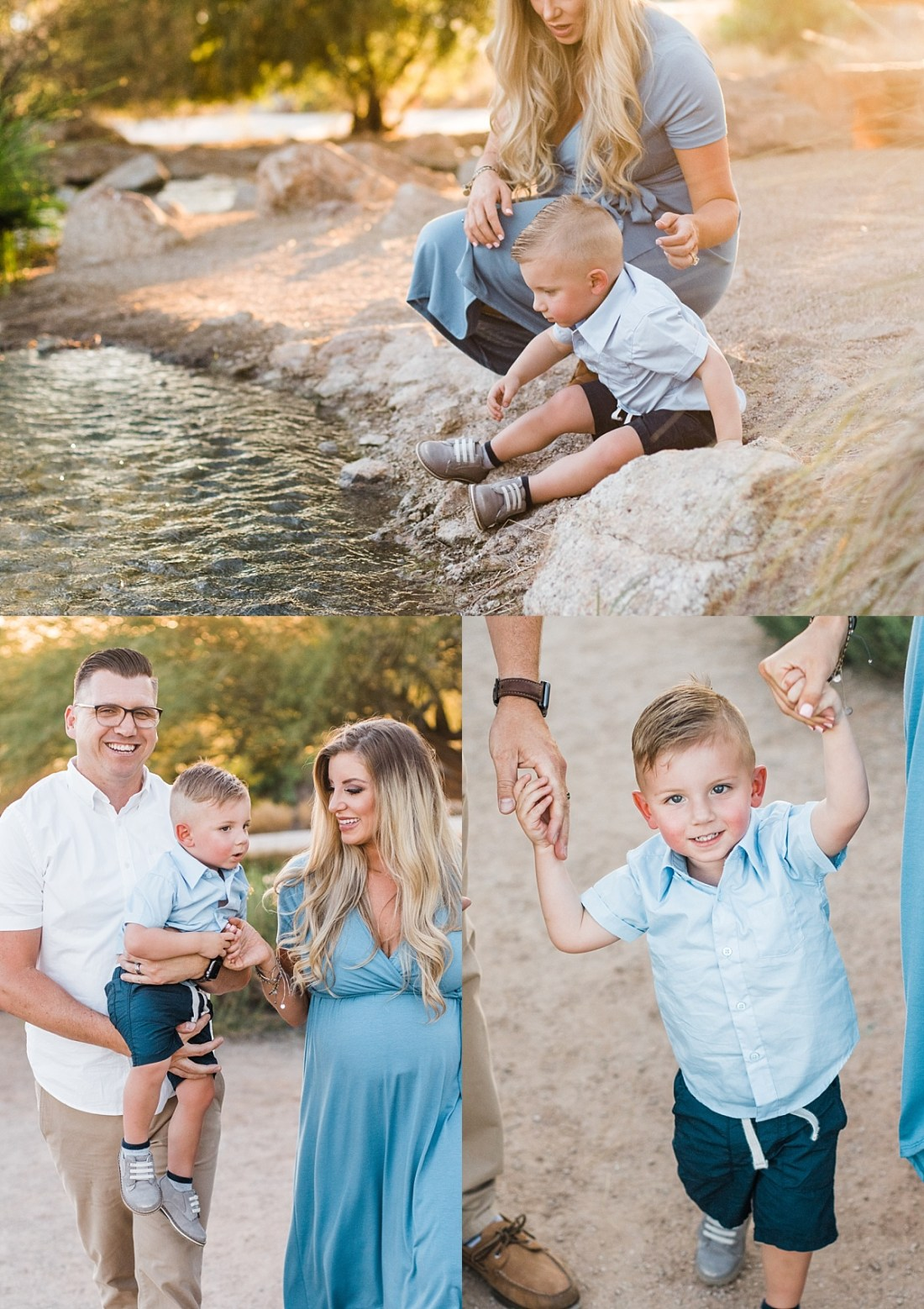 Riparian Preserve Family Pictures | Gilbert Family Photographer
