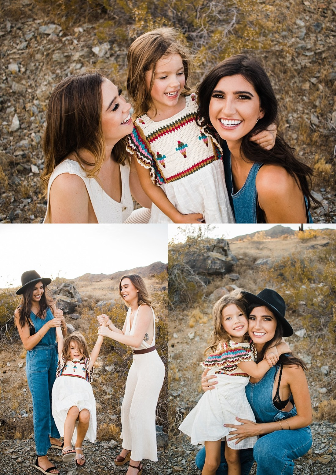 Telegraph Pass Trailhead Family Pictures | East Valley Photographer