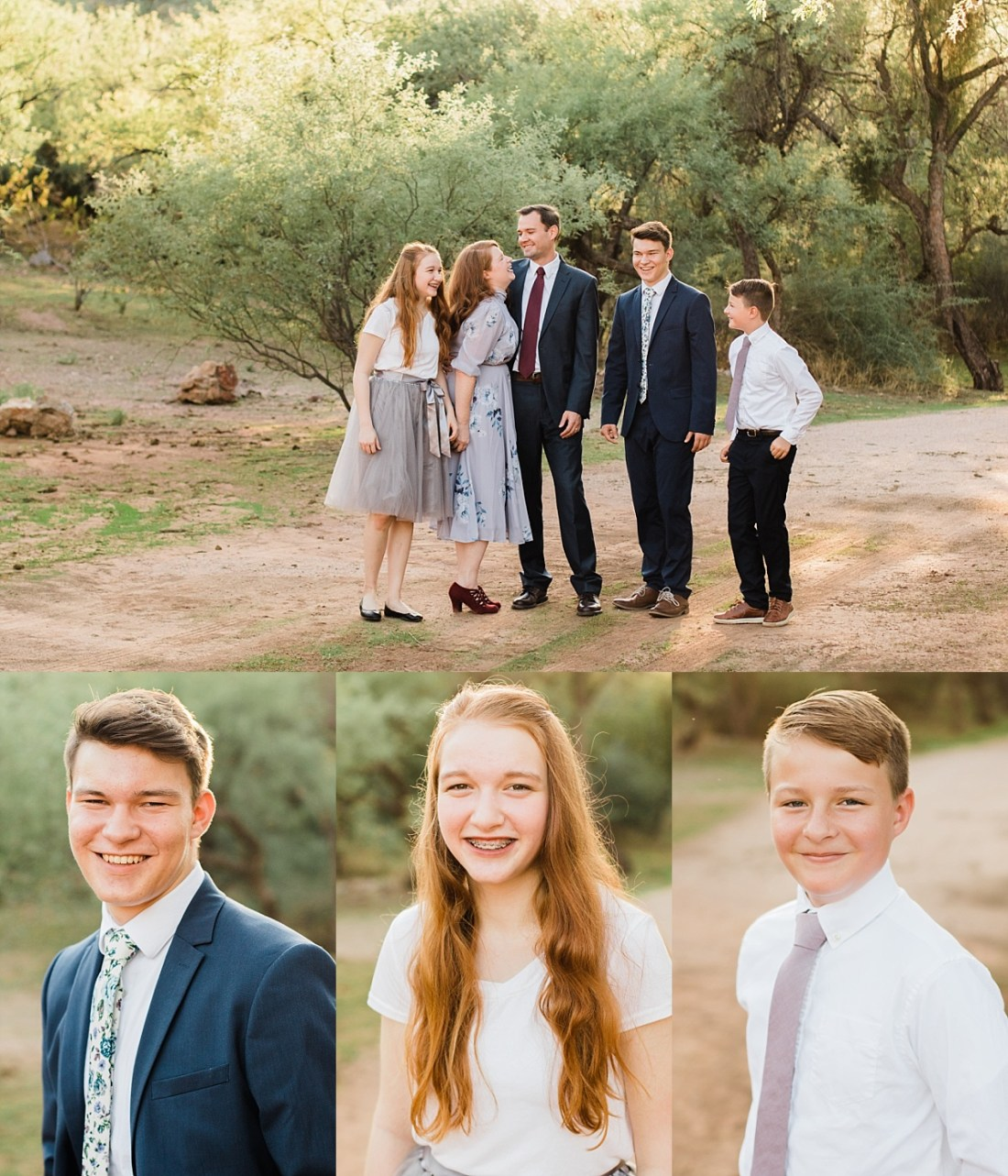 Coon Bluff Campground Family Pictures   Mesa Family Photographer