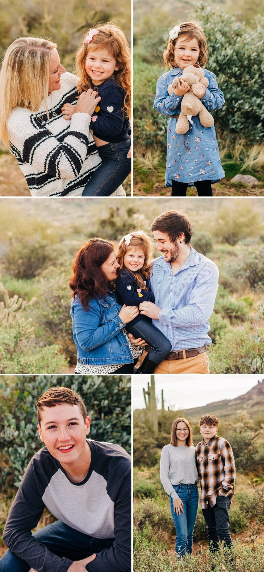 Lost Dutchman Family Pictures | Extended Family Photographer