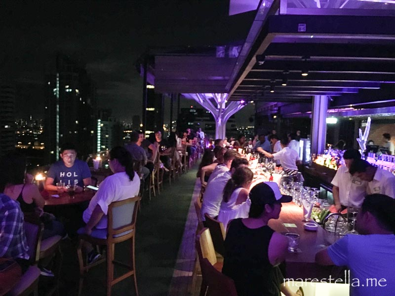 aabove eleven rooftop bar