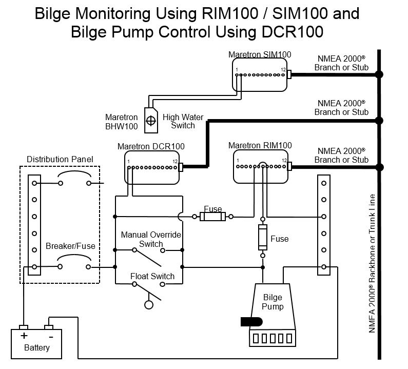 Rule Bilge Pump Switch Wiring Diagram - Wiring Diagram