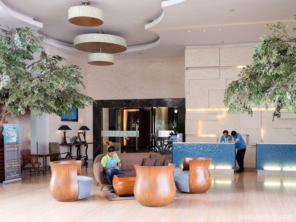 Lobby hotel R Rancamaya