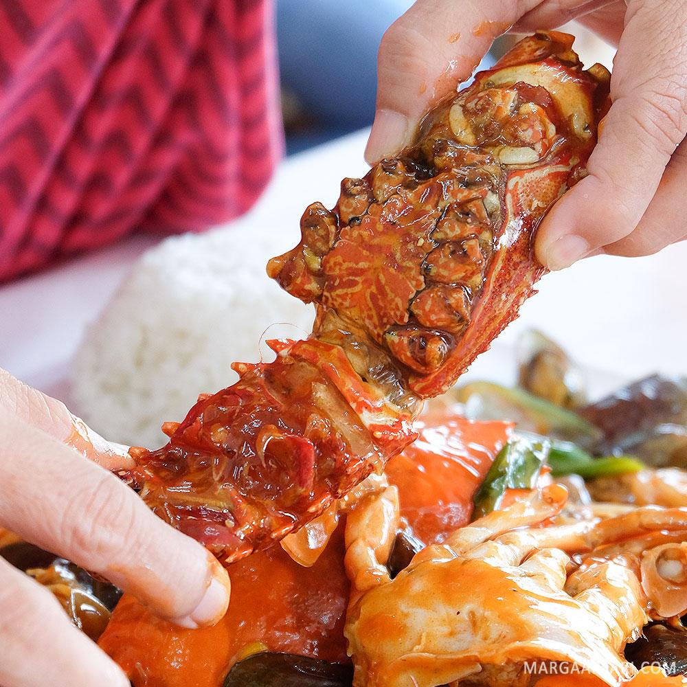 Lobster di Djajan Seafood