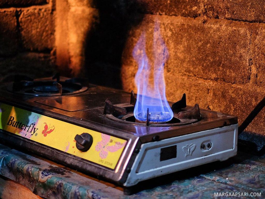 Biogas untuk memasak