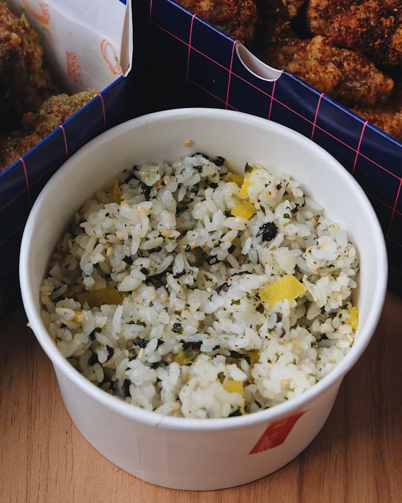 Jumeokbap atau Korean seasoned rice