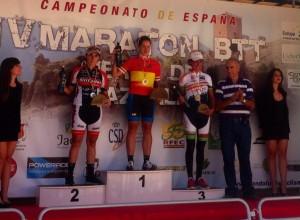 podio campeonato esp maraton 2013