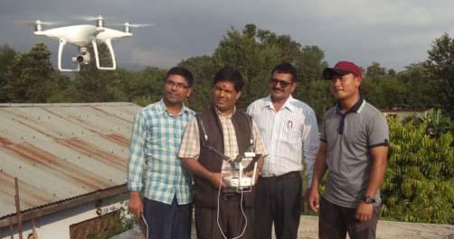 ड्रोन क्यामराबाट बिरेन्द्रनगरपालिकाले पर्यटकिय र बिकाशका गुरुयोजना संचालन गदै