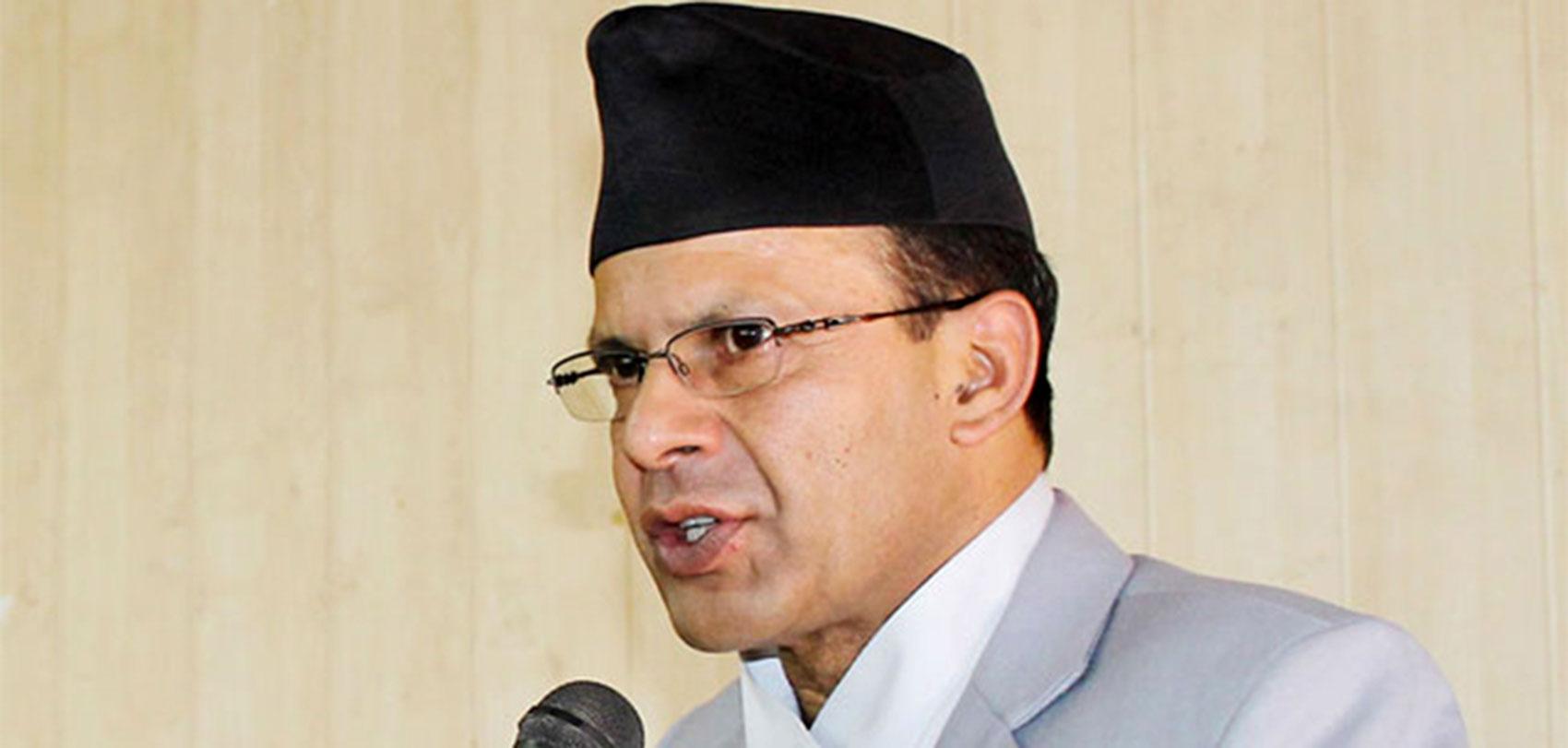 लोकतन्त्रलाई उपहास गर्नेहरु इतिहासमा सिमित भएका छन् : नेपाली कांग्रेस नेता डाक्टर मिनेन्द्र रिजाल मिनेन्द्र रिजाल