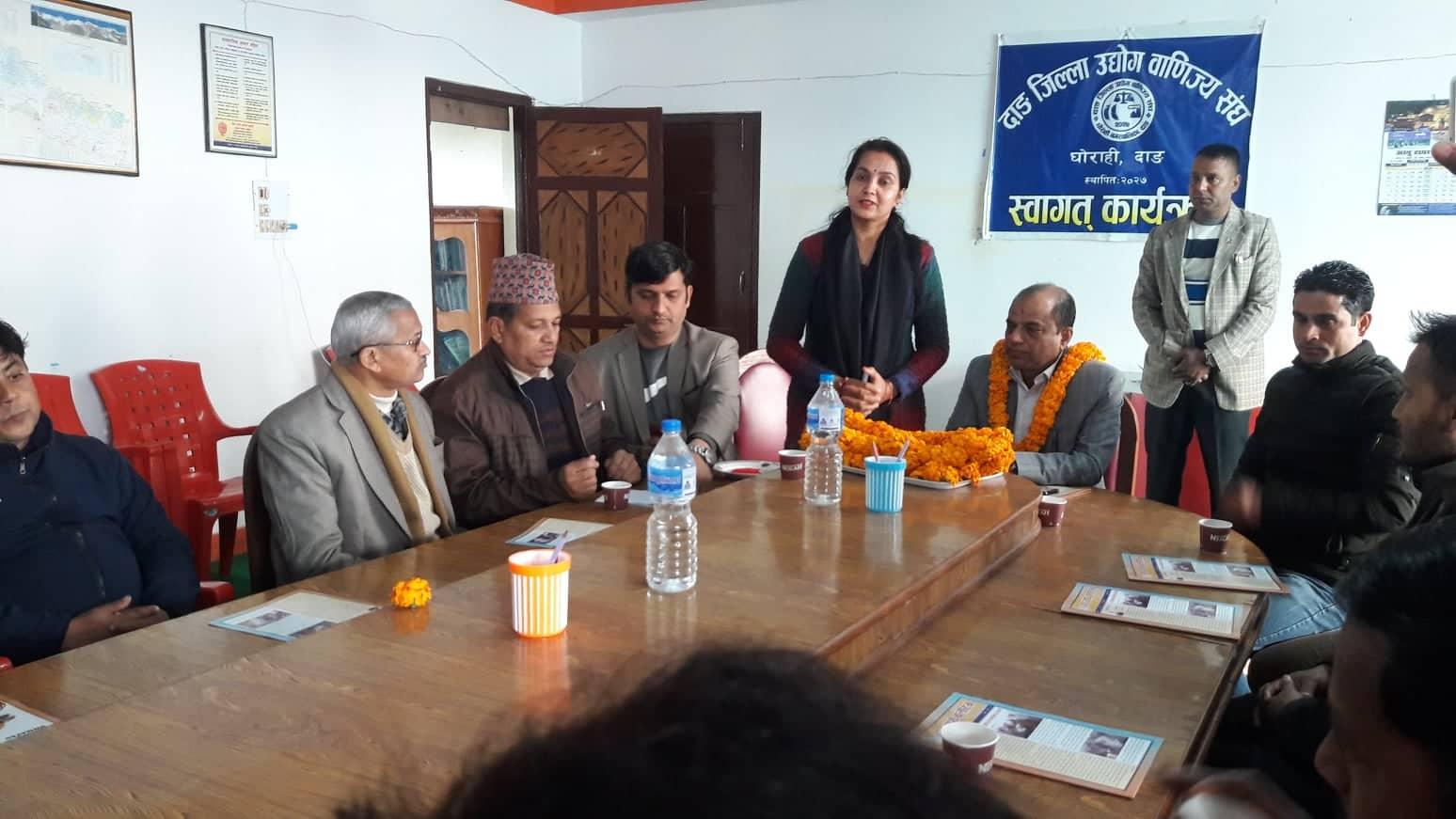 नेपाली जनताको समग्रमा समाजिक आर्थिक बिकाश गर्नका लागी कृषि क्षेत्रको विकासको लागि योजना निर्माण गरेर अगाडि वढनुपर्ने  कृषि तथा पशुपक्षी विकास मन्त्रि चक्रपाणी खनाल (बलदेव)