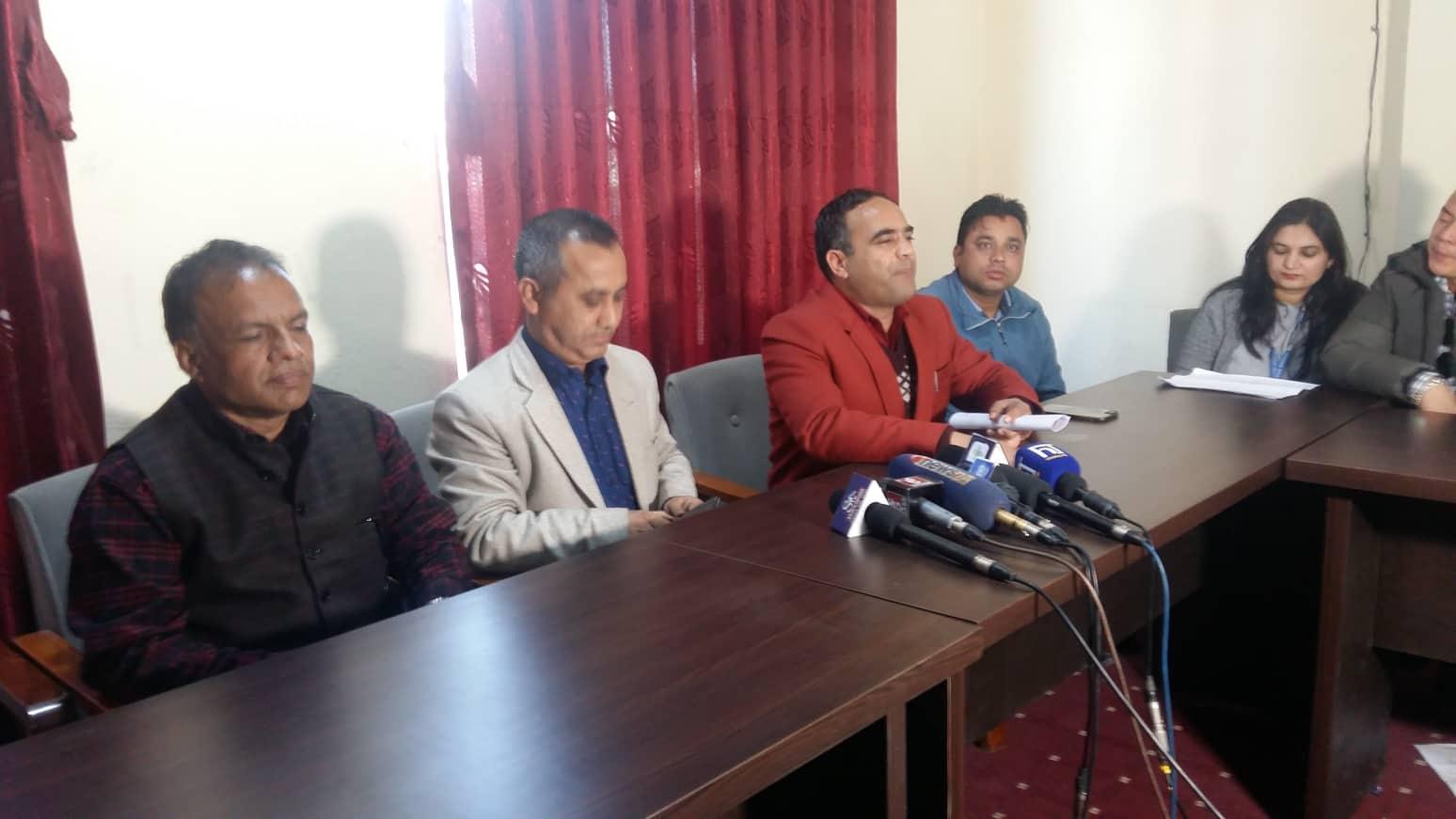नेपाल विद्यार्थी संघका सभापति नैनसिंह महरले पदबाट राजीनामा