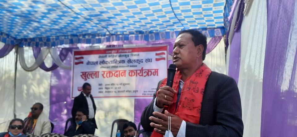 बर्तमान नेकपाको दुई तिहाईको सरकारले जनताको स्वास्थमा खेलवाड गरिरहेको छ  नेपाली काँग्रेसका केन्द्रिय सदस्य मोहन बस्नेत