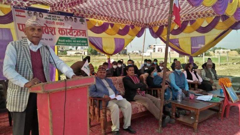 नेकपाकाे बर्तमान सरकार  अहंकार, दम्भ र कमजोर कार्यसम्पादनले  इतिहासकै सर्वाधिक अलोकप्रिय   नेपाली कांग्रेस केन्द्रिय सदस्य एव र्पुवमन्त्री हिदय राम थानी