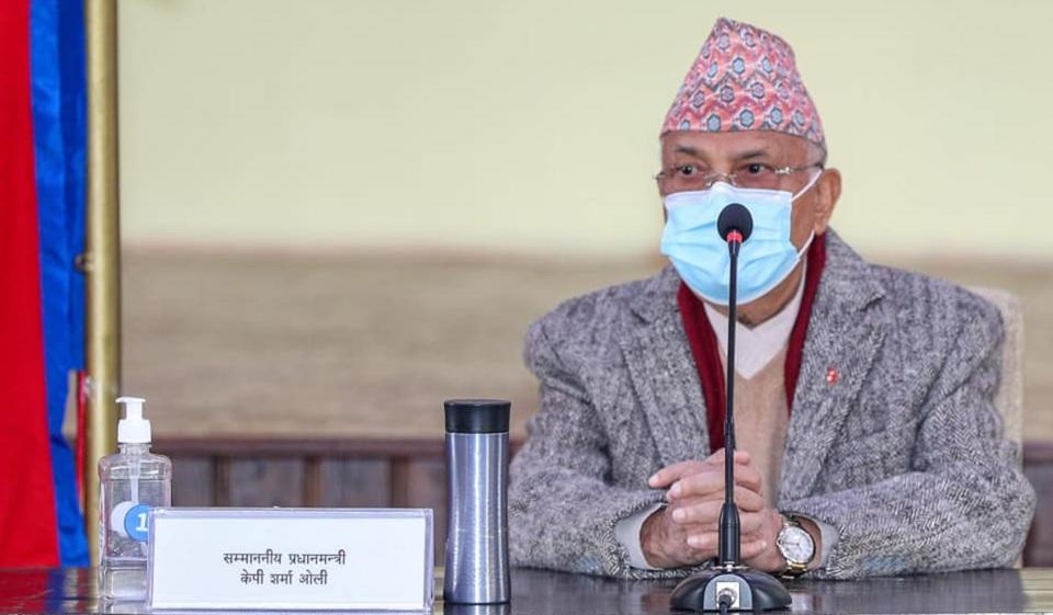 संविधानविरोधी र हिंसात्मक गतिविधि गर्नेविरुद्ध एकजुट बनौं प्रधानमन्त्री केपी शर्मा ओली