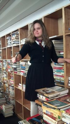 Here's a picture of me as Hermione to keep you from accidentally seeing spoilers.