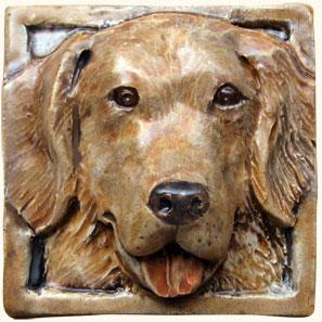 4 X 4 Dog Tiles 32