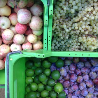 Apples, Grapes, Limes & Figs