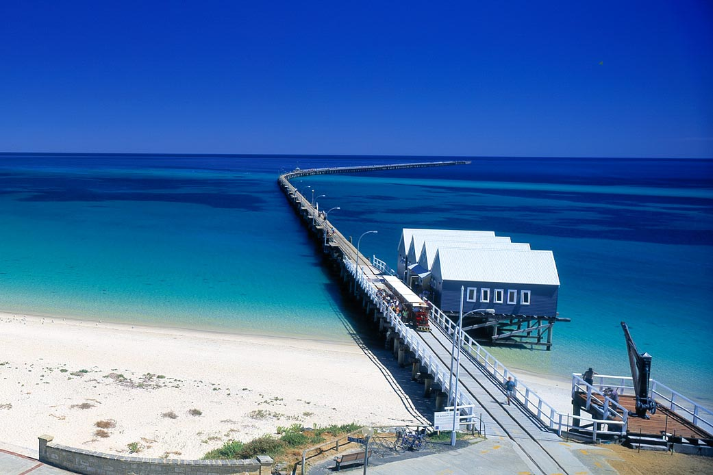Busselton Jetty. 5 northern towns in the Margaret River Region