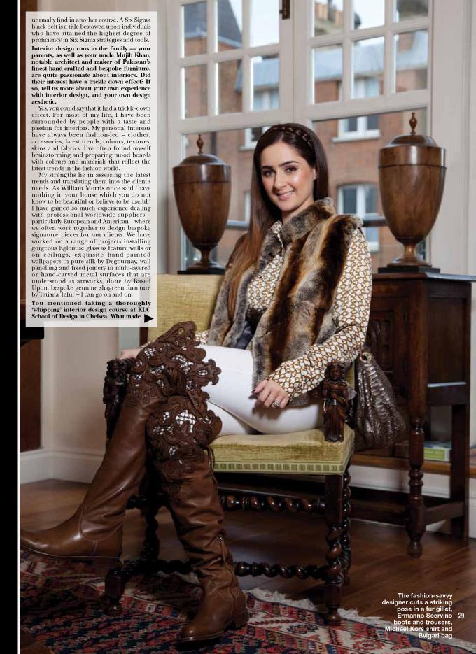 Photo: Hello Magazine, Pakistan, press, tear-sheet, editorial photography, by Margaret Yescombe, Photographer London, Make-up Artist and Hairstylist Dorota Nowacka
