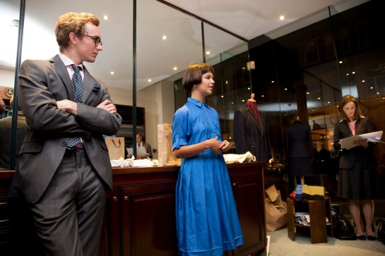 Photo: fashion design competition, saville row, london, uk. Photography by Fashion & PR Photographer Margaret Yescombe