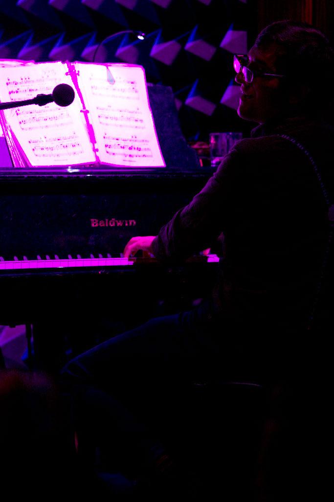 Photographer Margaret Yescombe, pianist in Tori Scott's band
