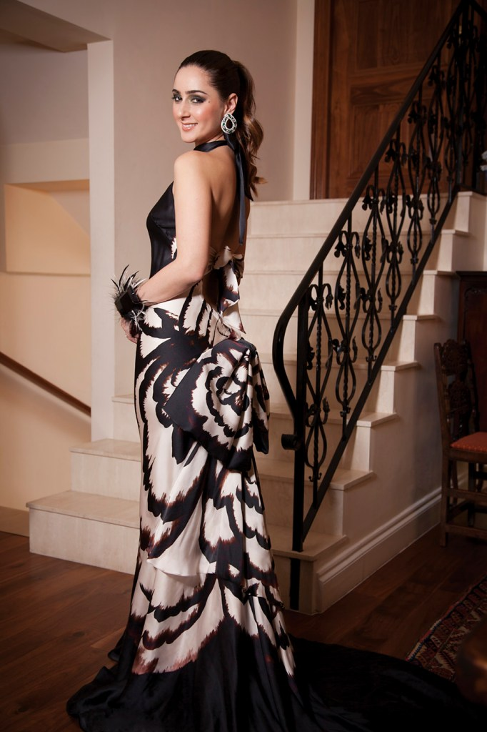 Photo: HELLO! Magazine editorial spread, featuring interior designer, photo-shoot photographic image by celebrity Photographer London Margaret Yescombe
