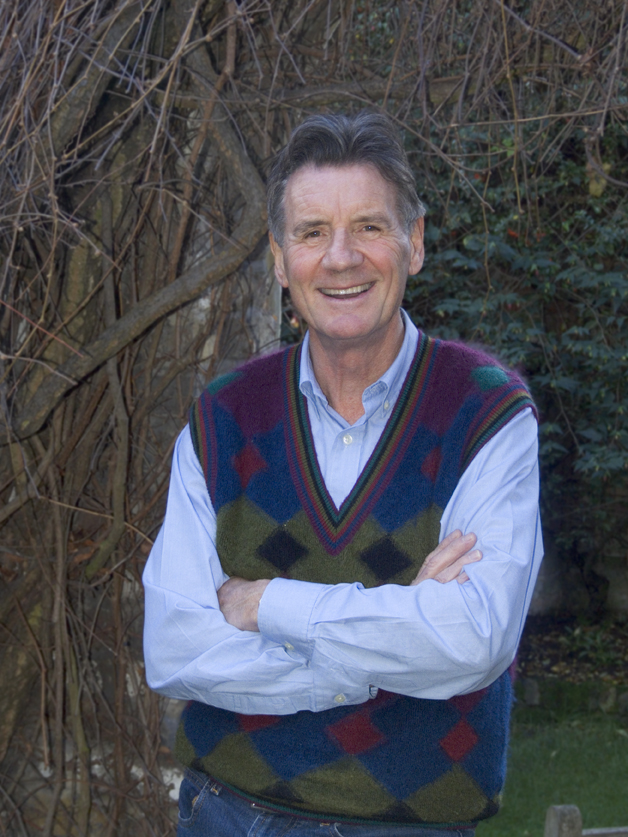 Photo: celebrity comedian and member of Monty Python Michael Palin