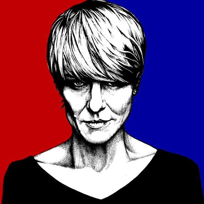 """Claire Underwood"" Pen, Paper"