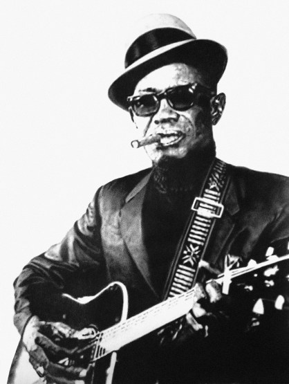 """Lightnin' Hopkins"" 18x24 Pencil on Paper"