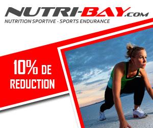 Profitez de 10% de réduction sur les produits Nutri-Bay (nutrition de l'endurance) en cliquant sur l'image et en utilisant le code MARGAUXLS