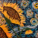 Van Gough's Sunflowers *
