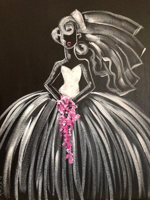 Deco Art Bride