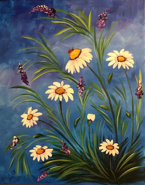 Spring Daisies - Level 2