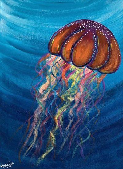 Jelly Fish - The Art Sherpa