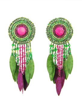 Yellow-Green and Fuchsia... does color get any livelier than this?