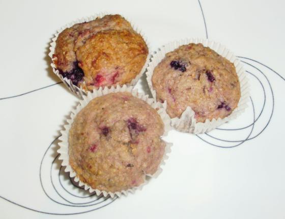 muffins à l'avoine