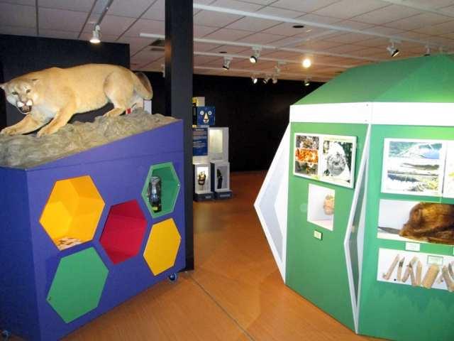 Une photo de notre visite au Centre d'exposition Léo-Ayotte de Shawinigan. Elle n'est pas dans mon article, mais je vous la met, en super exclusivité!