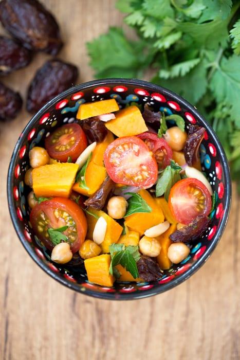 cuisine marocaine recette salade