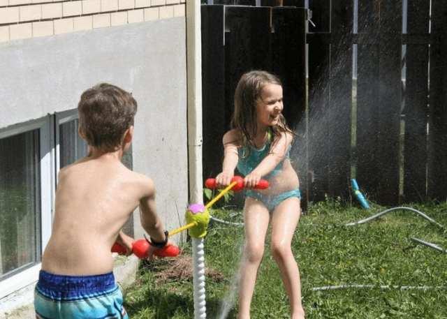 jeu d'eau Splash Face de Little Tikes