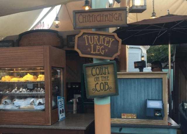 Turkey leg Disneyland Californie