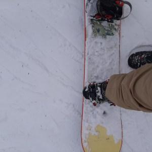 Initiation ski planche