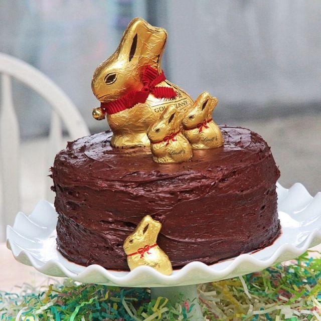 recettes chocolatées de gâteau de Pâques
